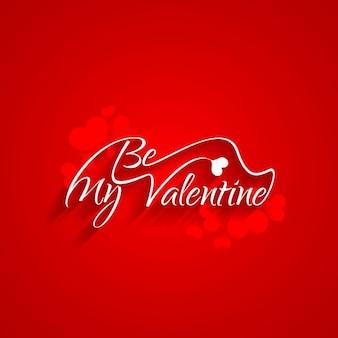 Be my valentine karty