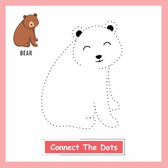 Bear connect the dots
