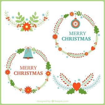 Beautiful christmas wieńce i wiązanki