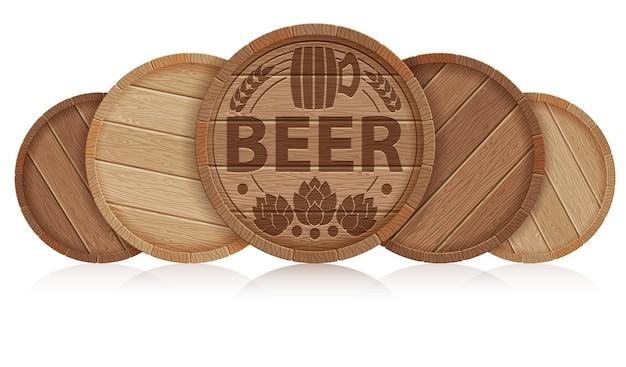 Beczki piwa