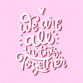 Będziemy walczyć razem napis