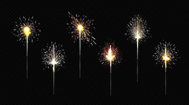 Bengalskie ognisko podpalane brylantowe światła