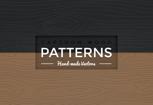 Bez szwu desenie wektor drewna