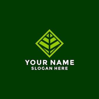 Bez tytułu-hexagon leaf, eco, garden, botanika, nature logo