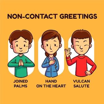 Bezkontaktowe pomysły na pozdrowienia