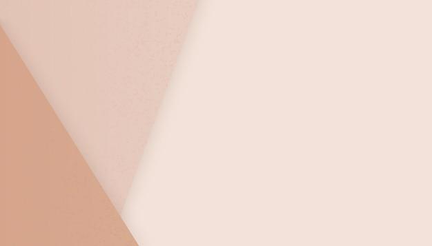 Beżowy papier tło z miejsca na kopię. ilustracja wektorowa neutralne kolorowe tapety.