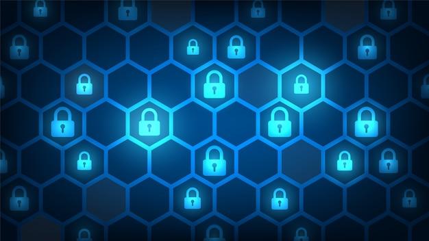 Bezpieczeństwo technologii cybernetycznej, tło ochrony sieci