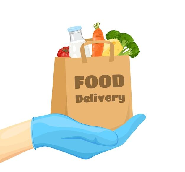 Bezpieczna dostawa jedzenia