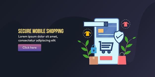 Bezpieczne zakupy mobilne