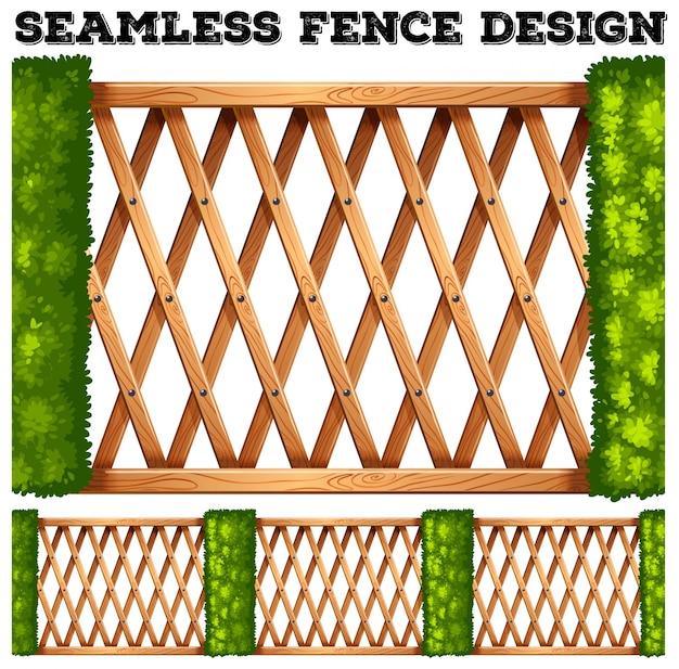 Bezproblemowa konstrukcja ogrodzenia drewnianego