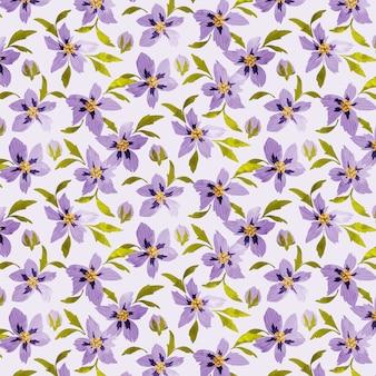 Bezproblemowa kwiatowy wzór