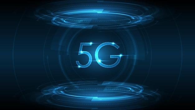 Bezprzewodowe połączenie z internetem w sieci 5g, internet rzeczy, sieć komunikacyjna, szybka, szerokopasmowa telekomunikacja;