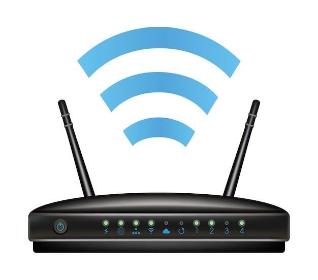 Bezprzewodowy router modemu ethernetowego
