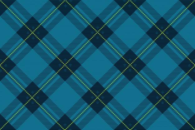 Bezszwowa szkocka krata szkocka krata, wektorowa ilustracja. powtarzalne w poziomie i w pionie.