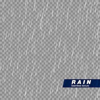 Bezszwowa tekstura opadów. efekt kropli deszczu.