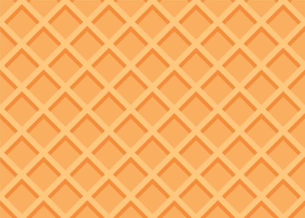 Bezszwowa tekstura wafel