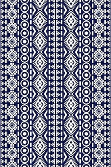 Bezszwowe etniczne etniczne azjatyckie i tradycji wzór geometryczny wzór dla tekstury i tła. dekoracja z jedwabiu i tkaniny do dywanów, odzieży, opakowań i tapet