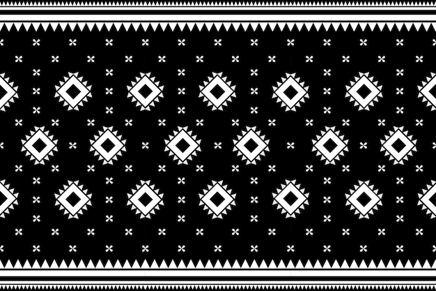 Bezszwowe etniczne etniczne azjatyckie i tradycji wzór geometryczny wzór tekstury i bachground. dekoracja z jedwabiu i tkaniny do dywanów, odzieży, opakowań i tapet