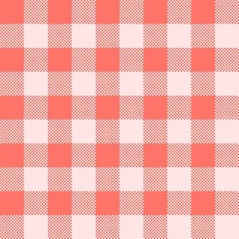 Bezszwowe geometryczny różowy sztandar. modny różowy kolor tła