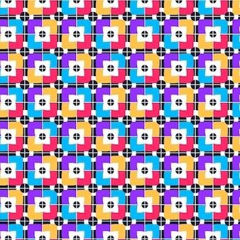 Bezszwowe geometryczny wzór groovy tekstury