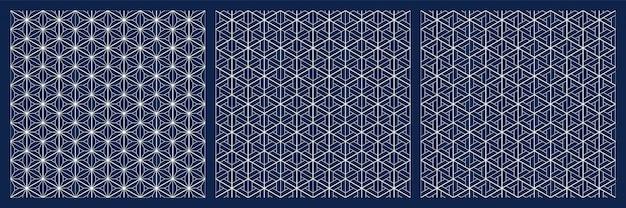 Bezszwowe japoński wzór shoji kumiko.
