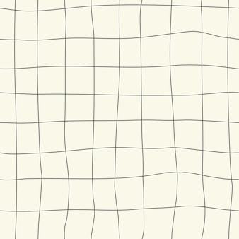 Bezszwowe naturalne tło wzór w kratkę ręcznie rysunek