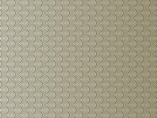Bezszwowe streszczenie nakładające się faliste linie wzór tła.