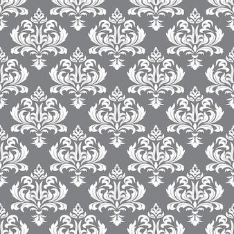 Bezszwowe tapety tekstury w stylu baroku.