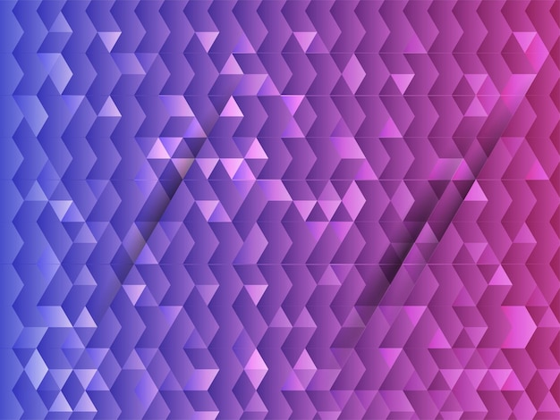 Bezszwowe tło wzór geometryczny trójkąt gradientu.