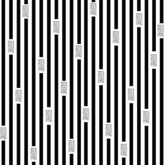 Bezszwowe tło wzór srebrny i czarny brokat