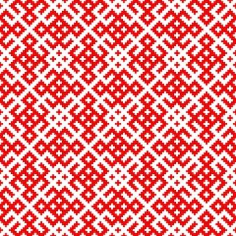 Bezszwowe tradycyjny wzór rosyjski i słowiański