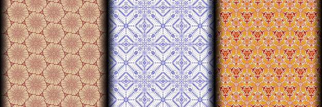 Bezszwowe wzory geometryczne wzory graficzne