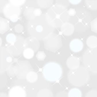 Bezszwowy abstrakcjonistyczny bożenarodzeniowy tło z światłami błyska z miękkim bokeh