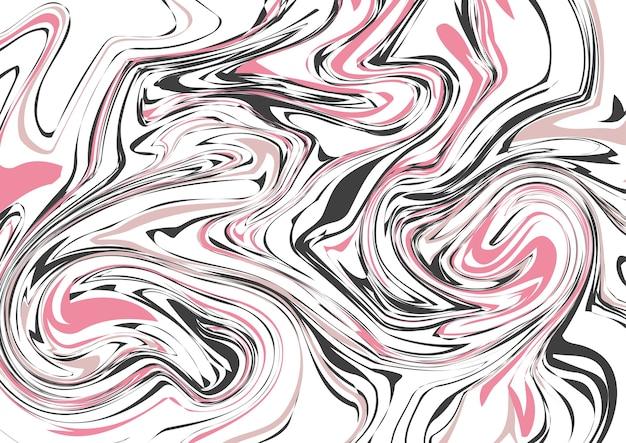 Bezszwowy abstrakcjonistyczny marmuru wzór, luksusowe poruszające linie