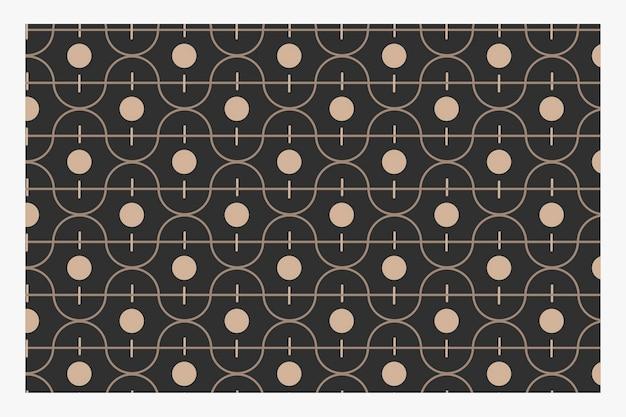 Bezszwowy falisty wzór geometryczny