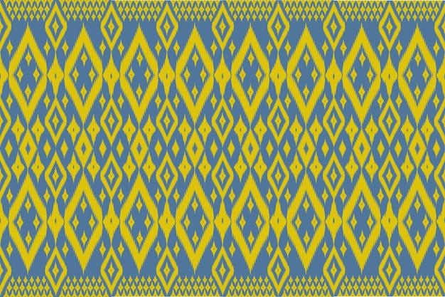 Bezszwowy geometryczny etniczny azjatycki orientalny i tradycyjny wzór dla tekstury i bachground