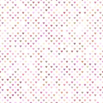 Bezszwowy różowy serce wzoru tła projekt