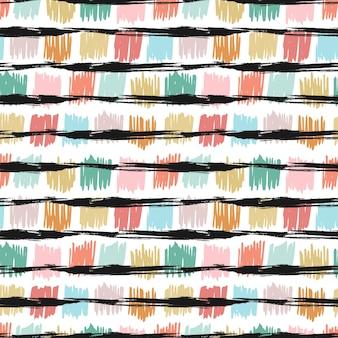 Bezszwowy wzór z mody teksturą