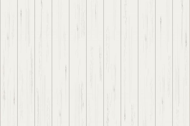 Biała drewniana deski tekstura dla tła.