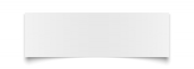 Biała księga na białym tle.