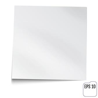 Biała notatka