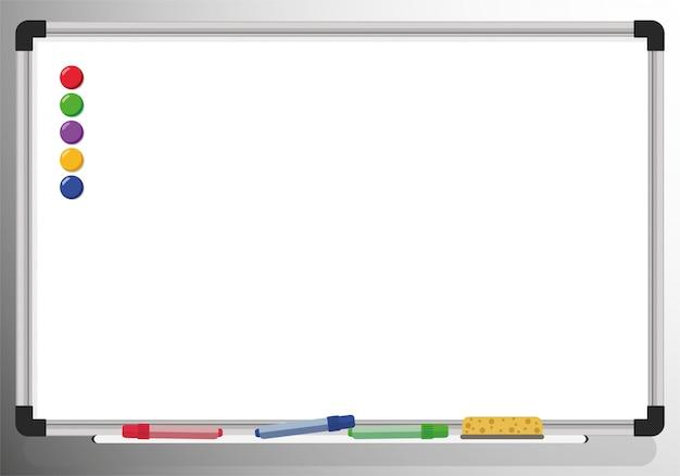 Biała tablica magnetyczna