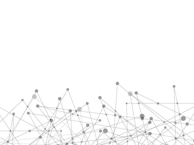 Biała technologia i nauka abstrakcyjne tło
