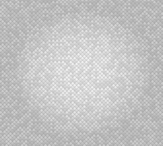 Białe abstrakcyjne tło geometryczne z małych wielościanów z kolorowymi wstawkami