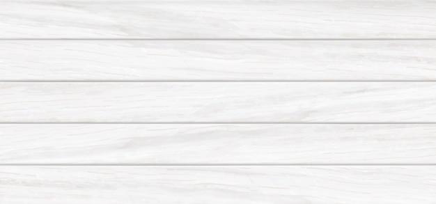 Białe drewniane