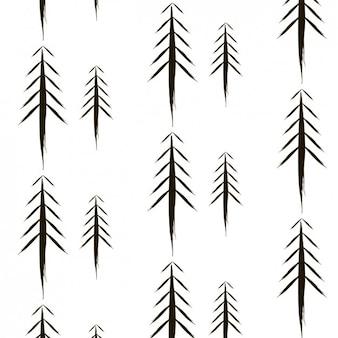 Białe drzewo wzór