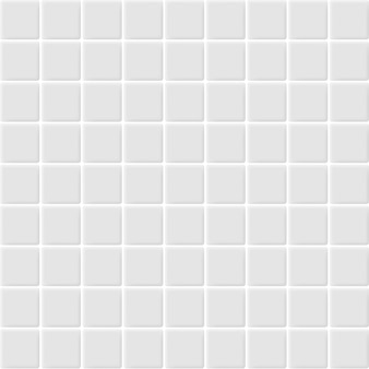 Białe i szare ceramiczne mozaiki ścienne o wysokiej rozdzielczości. ceglany bezszwowy i tekstura wewnętrzny czysty tło.