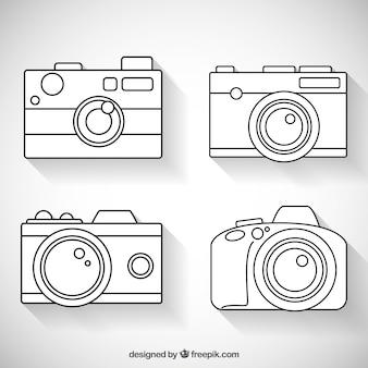 Białe kamery