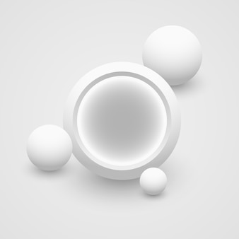 Białe kółka. .