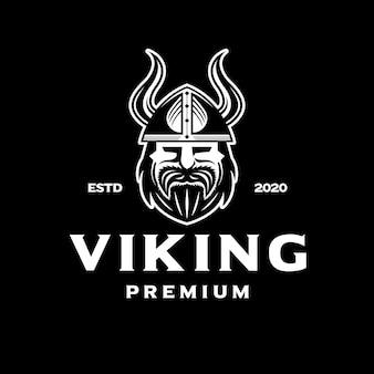 Białe logo wikingów